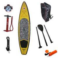 Factory Outlet Inflatable Stand Up Paddle Board, ISUP Board, Paddle, Bag