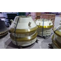 Sandvik H series cone crusher standard mantle/concave ring manufacture