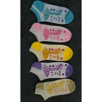 2015 Latest Design 100% Cotton Wholesale Fashion Custom Women Sock thumbnail image