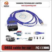 USB cable KKL VAG 409 OBD2 II Auto Diagnostic Tool