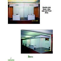 2m*2m booth standard booth racks