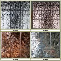 98x98mm Stainless steel tile