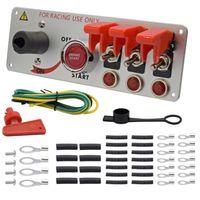 12/24V Aluminium Alloy Race Car Ignition Switch Panel
