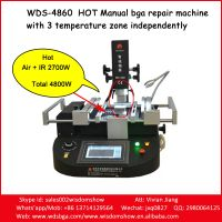 Hot Manual BGA Machine WDS-4860 Laptop/Computer Motherboard Repairing Machine Work For All Kind Bran