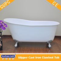 Cast Iron Roll Top Clawfoot Tub