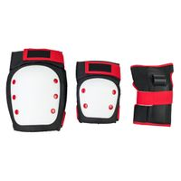 Knee Elbow Pads with Wrist Guard Adjustable Toddler to Adult 6PCS Protective Gear Set for Multi Spor thumbnail image