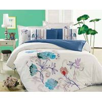100% Cotton Bedding Set with Duvet Cover and Bedspread thumbnail image