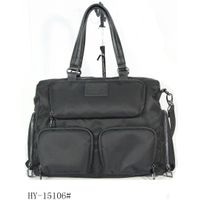 Stylish casual leather handbag for men HY-15106#