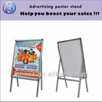 Single side new inventions aluminium extrusion poster stand H1 thumbnail image