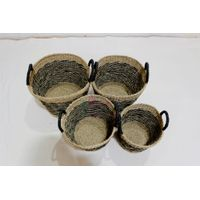 Hot item seagrass baskets- BH4344A-4MC thumbnail image