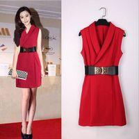High Quality Women Dress Fan Bingbing Famous International Film Star Same Type Dress thumbnail image