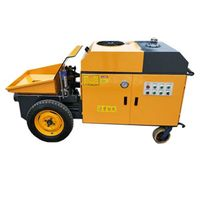 Wholesale Mini electric power remove concrete convey pump  Hydraulic concrete pump price