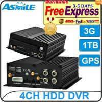 """BW2000 4CH HDD 2.5"""" HDD monitor cctv dvr from Asmile"""