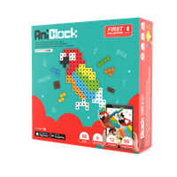 Educational toy, block & puzzle AniBlock First Collection 8 Colors