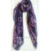 2013Fashion Colorful Polyester  Scarf