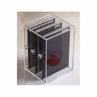 Acrylic Jewelry Storage Box Earring Display Stand Organizer Holder with 3 Vertical Drawer thumbnail image
