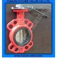 Multi Drilling Wafer Type Butterfly Valve Di Body (D71X-16) thumbnail image