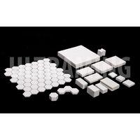 HI-grade Alumina Ceramic Square liner and Ceramic Wear Resistant Hexagon Lining pieces, Ceramic Wear