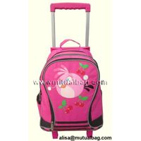 CH-T41026 fashion trolley bag trolley backpacks school bag with trolley backpack with wheels thumbnail image