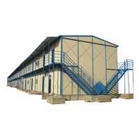Low Cost containers shed/Quick Build Emergency Rescue Steel Prefab Resort House for Sale/Prefabricat thumbnail image