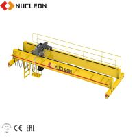 Widely used QD double beam motor driving traveling overhead bridge crane 20t price for sale thumbnail image