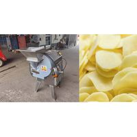 Commercial potato slicer machine for cutting potato chips thumbnail image