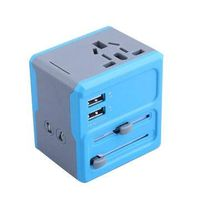 2014 Newest Travel Adapters with 2 USB Charger