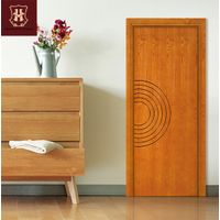 HONMAX interior house room door with simple wood design