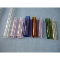 Borosilicate glass tube and rods