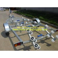 6.0m boat trailer with roller system