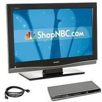 """Sharp AQUOS 32"""" 1080p LCD HDTV Package"""