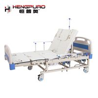 medical home care nursing patient reclining manual adjustable beds for seniors