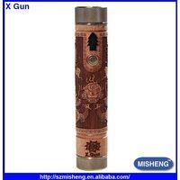 E-Cigarette high quality 134 Mod ,mechanical clone mod X Gun
