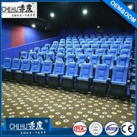 High quality fabric folding theater seat CH-806
