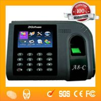 Popular China Biometric Fingerprint Time Captuing Clock with Schedule Management Software  HF-A8-c