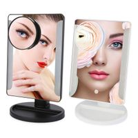 Moveable 10X Magnification Adjustable Brightness Touch 36 Led Lighted Make up Mirror thumbnail image
