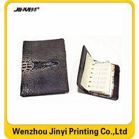 leather 6 ring binder planner organizer
