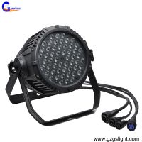 Outdoor Stage Disco Lighting 54pcs3W Waterproof RGBW LED Par Can Light