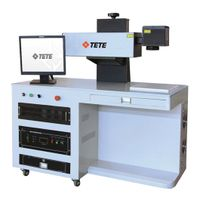 High Precision Laser Engraver Laser Marking Machine TETElaser DPV-M10 thumbnail image