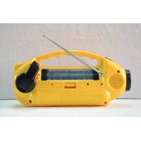 Solar Radio Am/FM/Sw Crank Radio