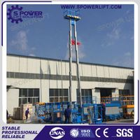 China 10M portable aluminum alloy man lift manufacturers thumbnail image