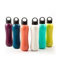 ZC-SO-F No-Sweat, Leak-Proof, Dishwasher Safe Water Bottle Canteen - Keep Cool or Stay Hot Up To 24