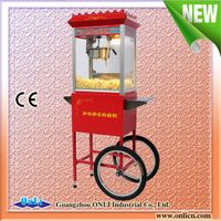 Hot sale high quality Commercial CE Popcorn Popper Machine with Cart 8 Oz