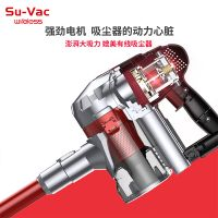 SUVAC DV-888DC-RXW STICK CORDLESS CYCLONE MINI VACUUM CLEANER WITH LOW NOISE thumbnail image