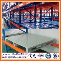 1208 Industrial 0.8T Galvanized Steel Storage Pallet