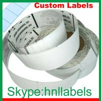 Customize Thermal Baggage Tags for Airlines