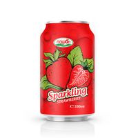 330ml NAWON Sparkling Strawberry Juice Drink
