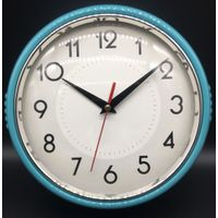 9 inch home decro plastic wall clock for promotion
