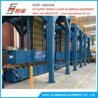 Aluminium Extrusion Profile Air Water Mist Cooling