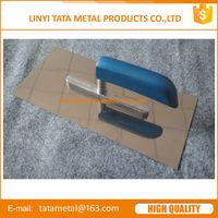 plastering trowel with stainless steel blade thumbnail image